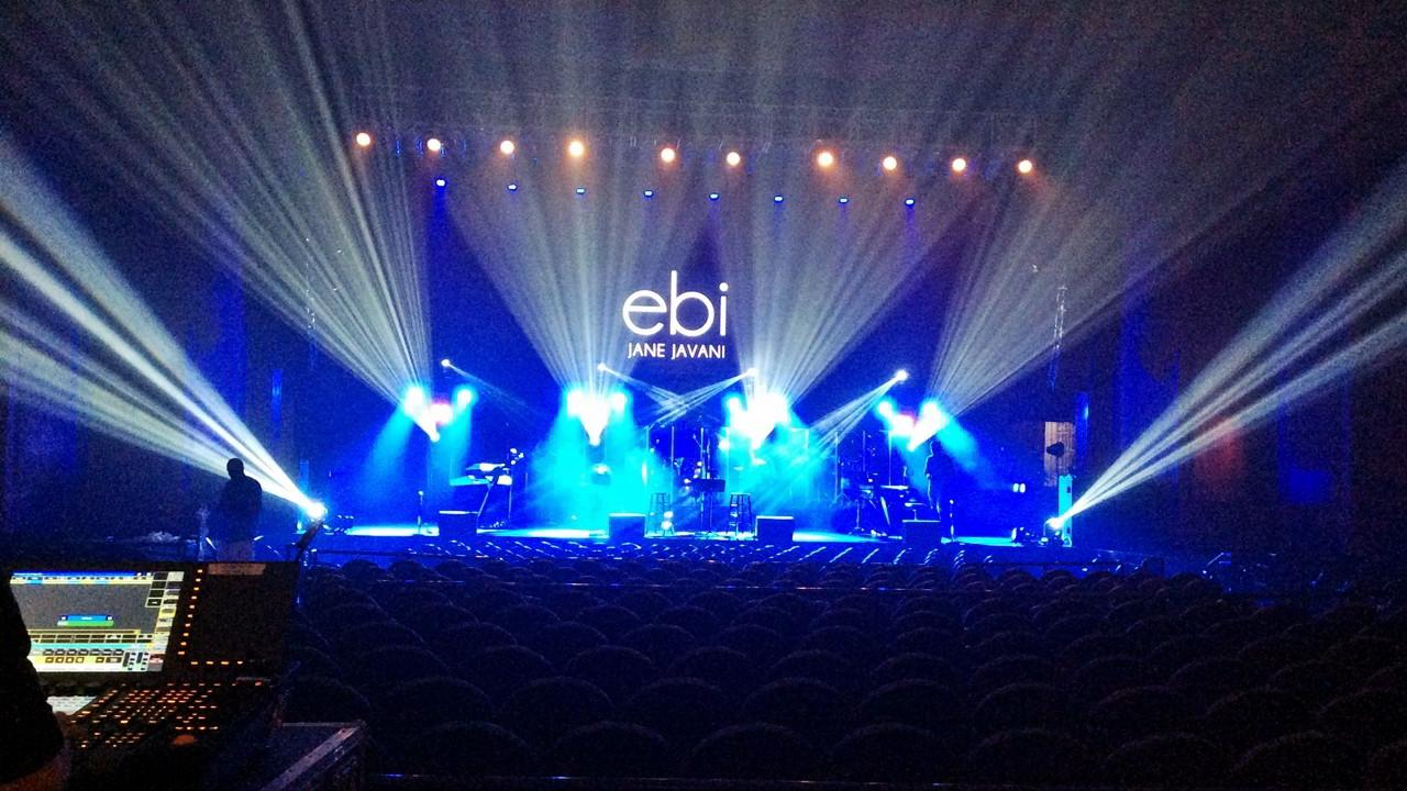SoundMediaOne.com EBI event production at Fillmore Miami Beach lighting design