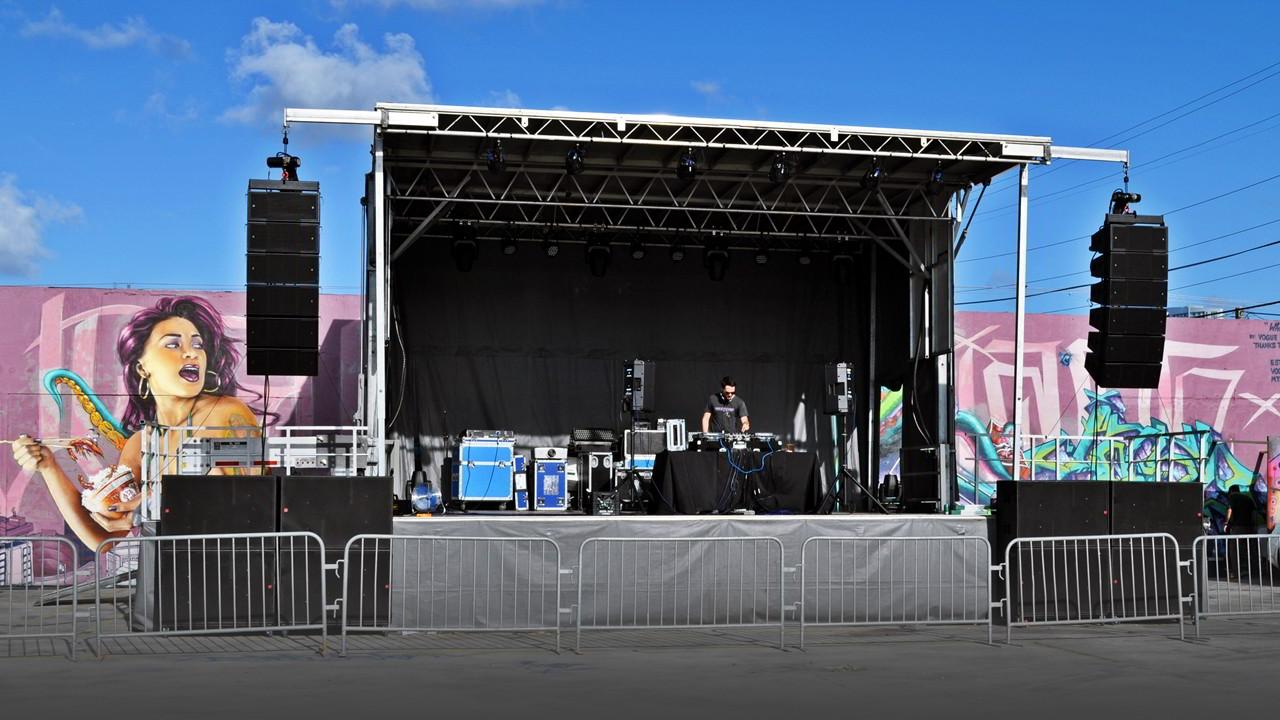 Sound Media Audio System in Wynwood Florida