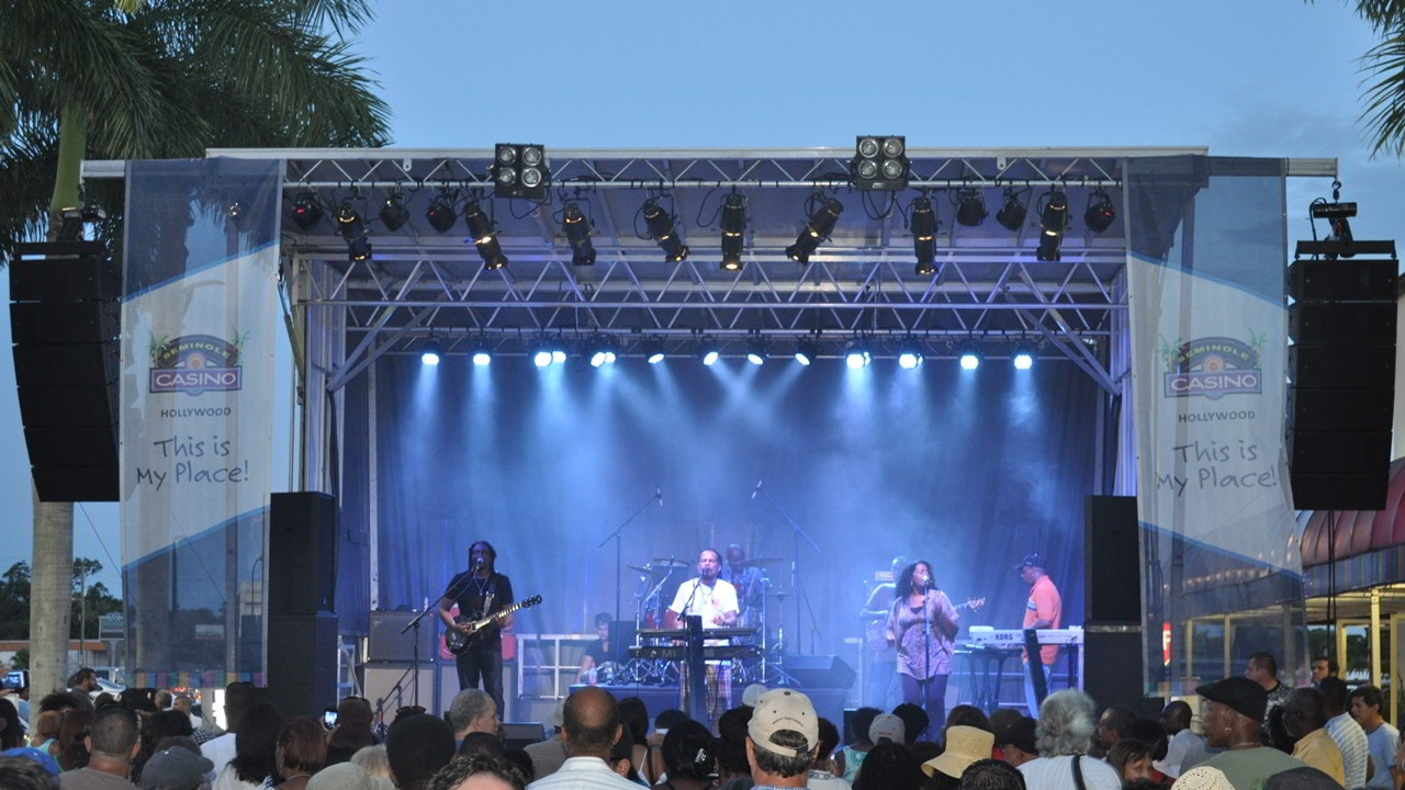 Sound Media Reggae Concert at Hard Rock Casino