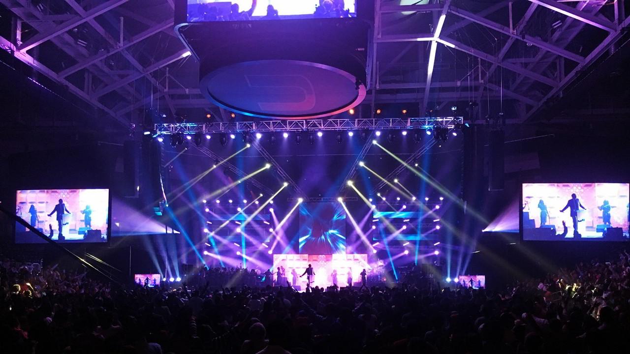 SoundMediaOne.com University of Miami Concert. Lights, Sound, Video
