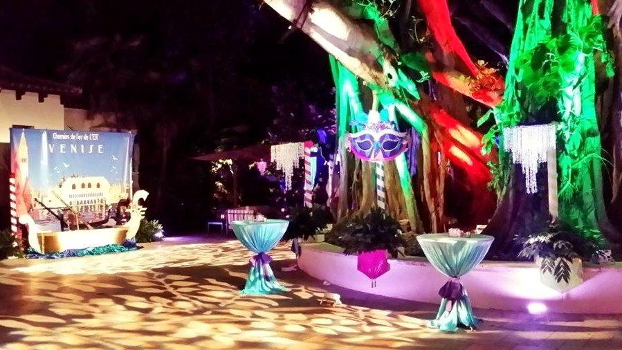Sound Media event on Fisher Island Miami Florida